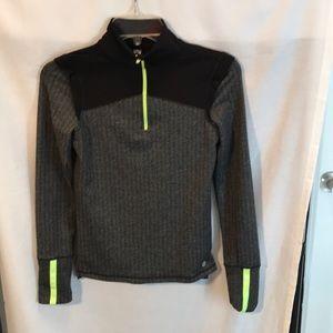 90 Degree girls black/grey size M sweatshirt